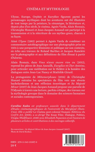 4eme Cinéma et mythologie