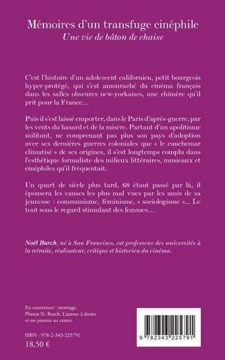 4eme Mémoires d'un transfuge cinéphile