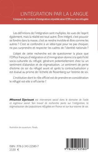 4eme L'intégration par la langue