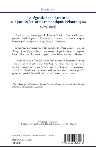 4eme La légende napoléonienne vue par les écrivains romantiques britanniques