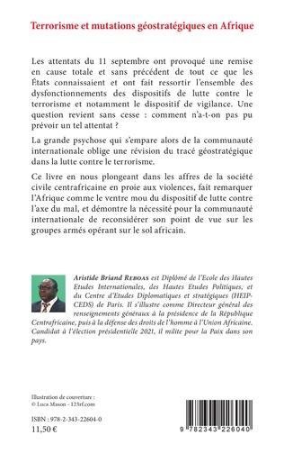 4eme Terrorisme et mutations géostratégiques en Afrique