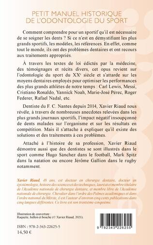 4eme Petit manuel historique de l'odontologie du sport