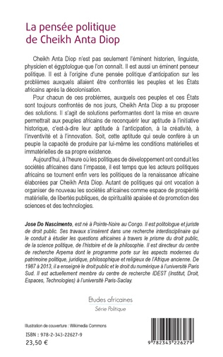 4eme La pensée politique de Cheikh Anta Diop (Nouvelle édition)