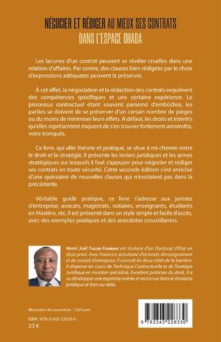 4eme Négocier et rédiger au mieux ses contrats (2ème édition)