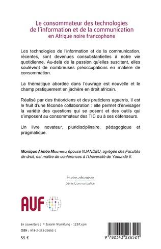 4eme Le consommateur des technologies de l'information et de la communication en Afrique noire francophone