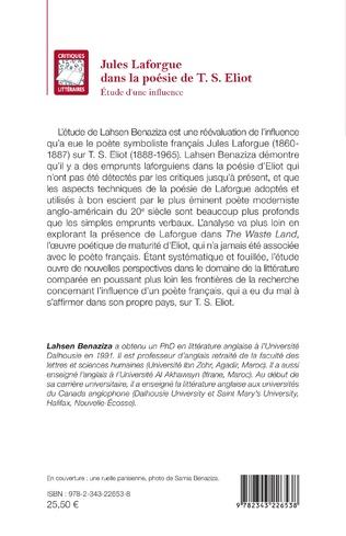 4eme Jules Laforgue dans la poésie de T. S. Eliot