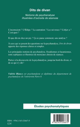 4eme Dits de divan (Nouvelle édition)