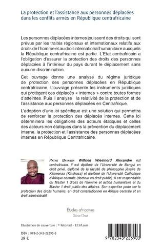 4eme La protection et l'assistance aux personnes déplacées dans les conflits armés en République centrafricaine