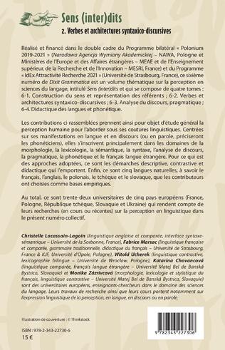 4eme Les verbes de perception slovaques et français dans une optique contrastive
