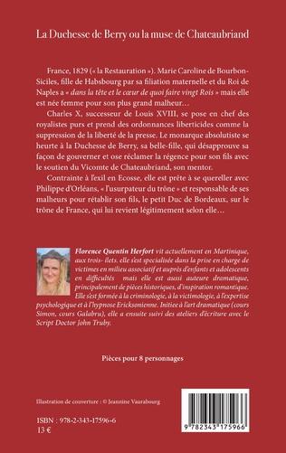 4eme La Duchesse de Berry ou la muse de Chateaubriand
