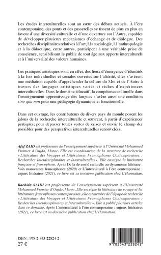4eme L'Interculturel contemporain au carrefour des disciplines