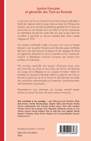 4eme Justice française et génocide des Tutsi au Rwanda