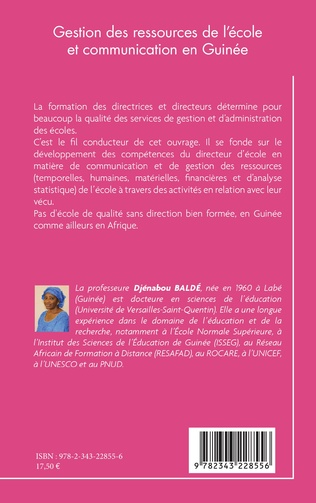 4eme Gestion des ressources de l'école et communication en Guinée