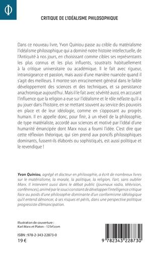 4eme Critique de l'idéalisme philosophique