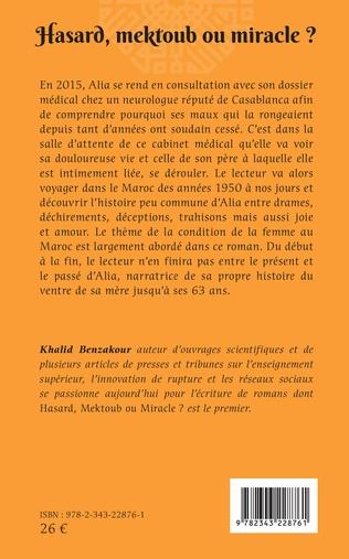 4eme Hasard, mektoub, ou miracle?