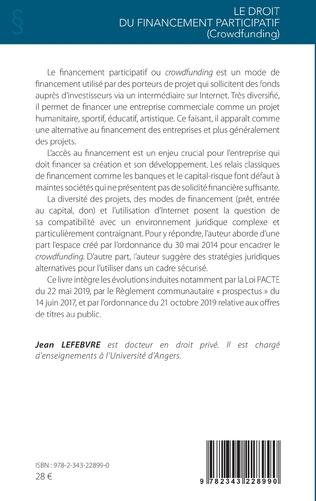 4eme Le droit du financement participatif (Crowdfunding)