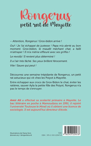 4eme Rongerus petit rat de Mayotte