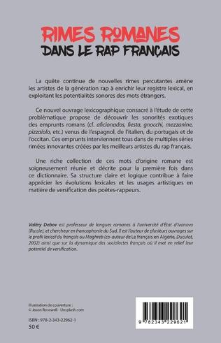 4eme Rimes romanes dans le rap français
