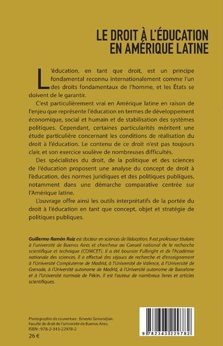 4eme Le droit à l'éducation en Amérique latine