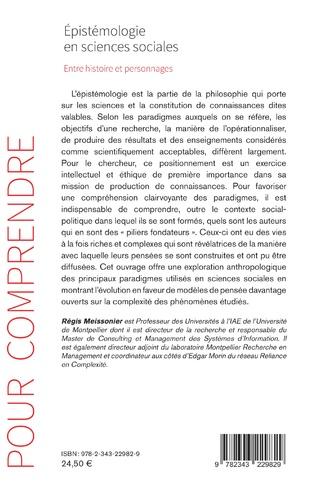 4eme Épistémologie en sciences sociales