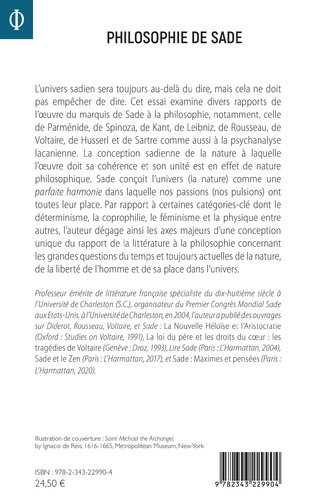 4eme Philosophie de Sade