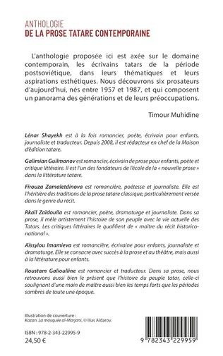 4eme Anthologie de la prose tatare contemporaine