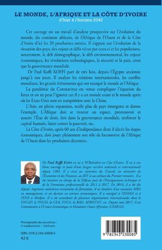 4eme Le Monde, l'Afrique et la Côte d'Ivoire d'hier à l'horizon 2040