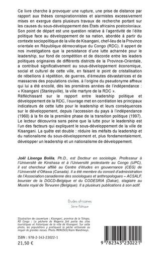 4eme Leadership politique et sous-développement en RD Congo
