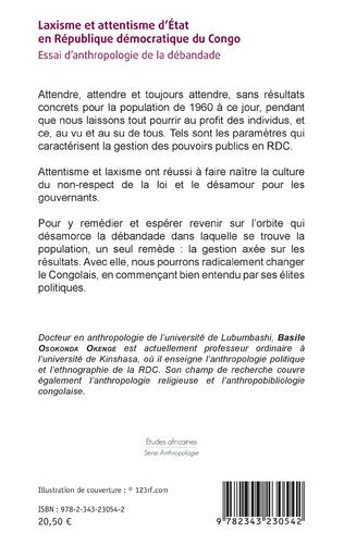 4eme Laxisme et attentisme d'État en République démocratique du Congo