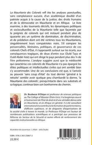 4eme La Mauritanie des colonels