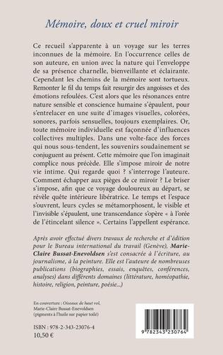 4eme Mémoire, doux et cruel miroir