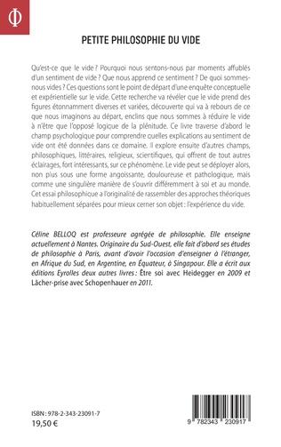 4eme Petite philosophie du vide