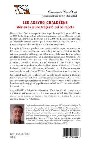 4eme Les Assyro-Chaldéens