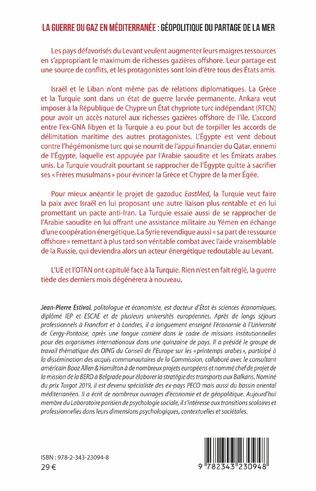 4eme La guerre du gaz en Méditerranée :