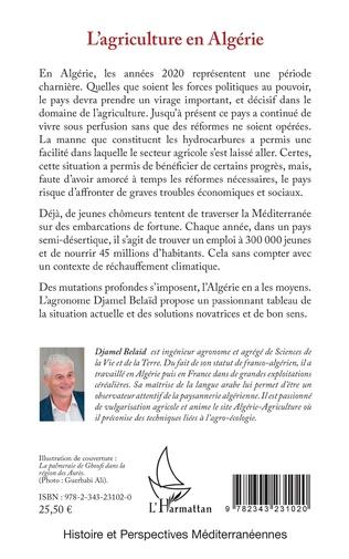 4eme L'agriculture en Algérie