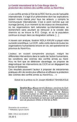 4eme Le comité international de la Croix-Rouge dans la protection des victimes des conflits armés au Nord-Kivu