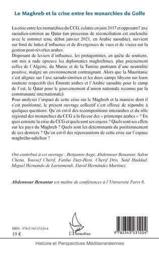 4eme Le Maghreb et la crise entre les monarchies du Golfe