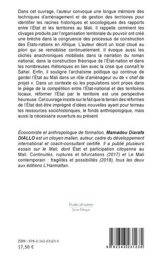 4eme État et territoire(s) au Sahel. Entre contrôle, compétition et coopération : le cas du Mali.
