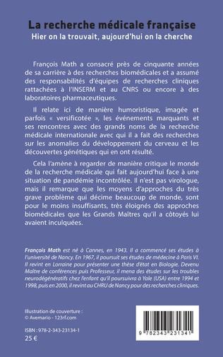 4eme La recherche médicale française