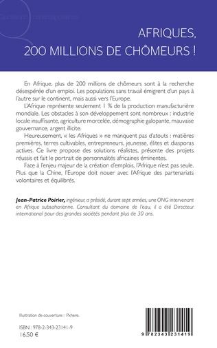 4eme Afriques, 200 millions de chômeurs !