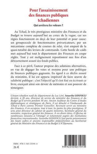 4eme Pour l'assainissement des finances publiques tchadiennes