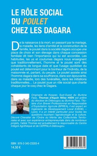 4eme Le rôle social du poulet chez les Dagara