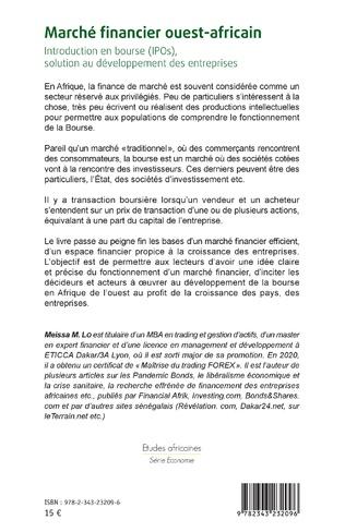 4eme Marché financier ouest-africain