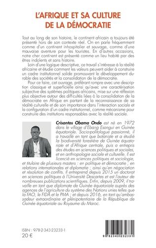 4eme L'Afrique et sa culture de la démocratie