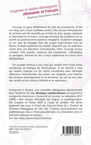 4eme Croyances et savoirs d'enseignants allemands et français