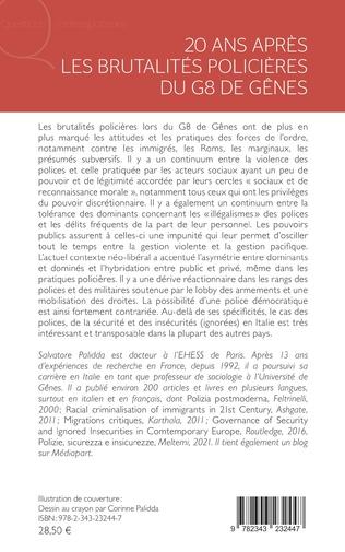 4eme 20 ans après les brutalités policières du G8 de Gênes