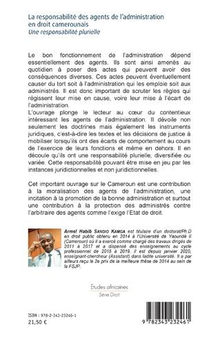 4eme La responsabilité des agents de l'administration en droit camerounais