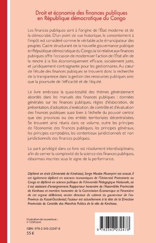4eme Droit et économie des finances publiques en République démocratique du Congo