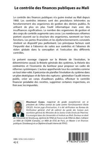 4eme Le contrôle des finances publiques au Mali