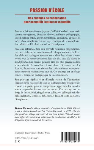 4eme PASSION D'ECOLE